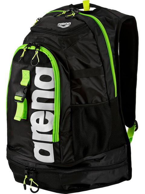 arena Fastpack 2.1 Backpack 45l dark grey/acid lime/white
